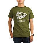 Jet Ski Organic Men's T-Shirt (dark)