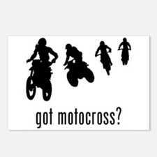Motocross 1 Postcards (Package of 8)