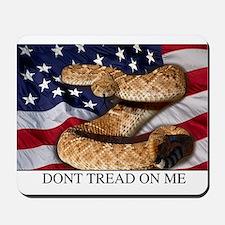 USA Gadsden Flag Mousepad