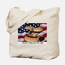 USA Gadsden Flag Tote Bag