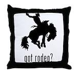 Rodeo 3 Throw Pillow