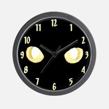 Glowing Eyes Wall Clock