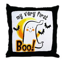 My First Boo Throw Pillow