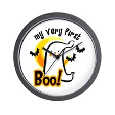 My First Boo Wall Clock
