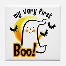 My First Boo Tile Coaster