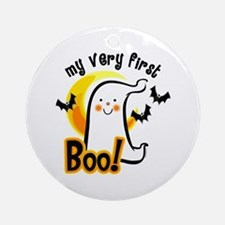 My First Boo Ornament (Round)