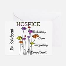 HOSPICE Greeting Card