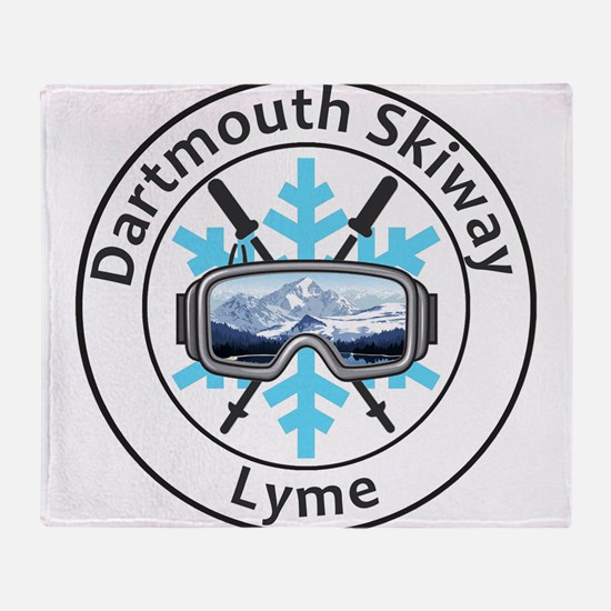 Dartmouth Skiway - Lyme - New Hamp Throw Blanket