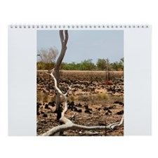 Bush Fire Outback Wall Calendar