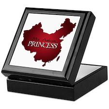 My Asian Princess (Red) Keepsake Box