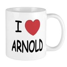 I heart Arnold Mug