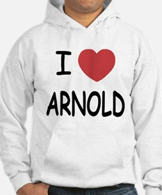 I heart Arnold Hoodie