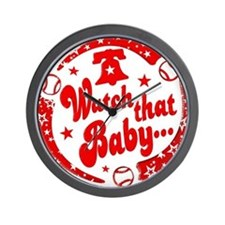 Watch that Baby... Wall Clock