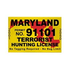 Maryland Rectangle Magnet (10 pack)