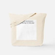 Anemone Paranoia Tote Bag