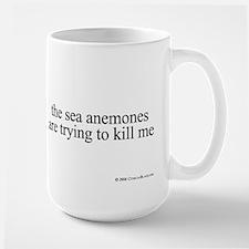Anemone Paranoia Large Mug