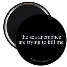 """Anemone Paranoia 2.25"""" Magnet (10 pack)"""