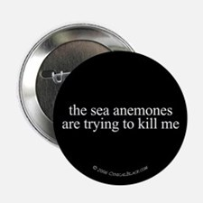 Anemone Paranoia Button