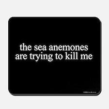 Anemone Paranoia Mousepad