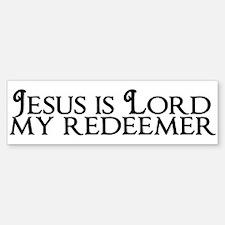Jesus is Lord Bumper Bumper Sticker