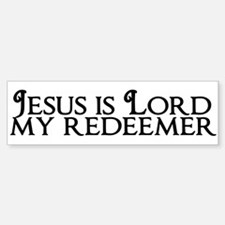 Jesus is Lord Sticker (Bumper)