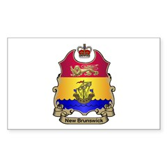 N.B. Shield Rectangle Decal