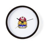 N.B. Shield Wall Clock