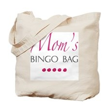 Mom's Bingo Bag Tote Bag