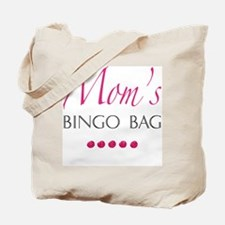 Mom's Bingo Bag Tote Bag