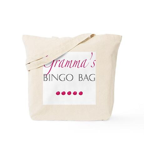 Gramma's Bingo Bag Tote Bag