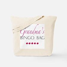 Grandma's Bingo Bag Tote Bag