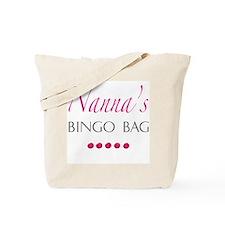 Nanna's Bingo Bag Tote Bag