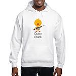 Rifle Camo Chick Hunting Hooded Sweatshirt