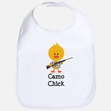 Rifle Camo Chick Hunting Bib