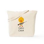 Rifle Camo Chick Hunting Tote Bag