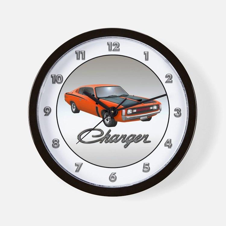Australian Charger Wall Clock