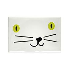 CRAZYFISH kittie kat Rectangle Magnet