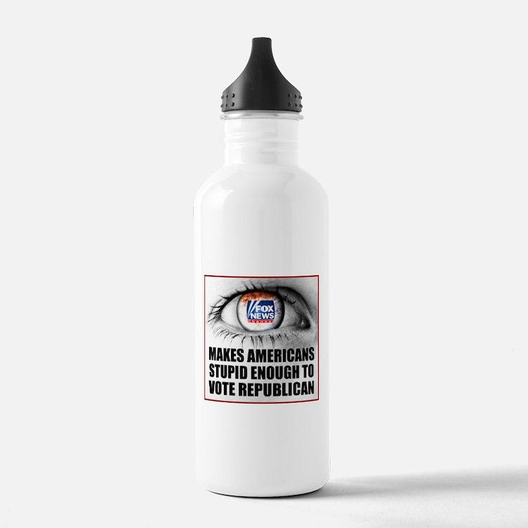 Cute Fox news Water Bottle
