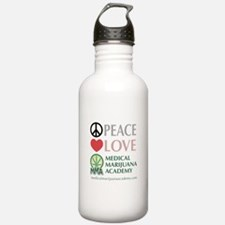 Peace Love Water Bottle