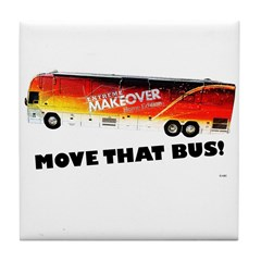 Move That Bus! Tile Coaster