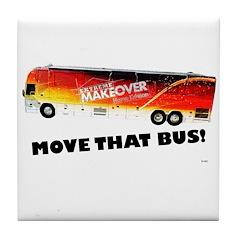 Move That Bus! Tile Coaster