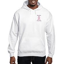 Real men wear pink Breast Cancer Hoodie Sweatshirt