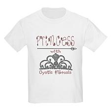 Cystic Fibrosis Princess T-Shirt