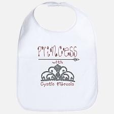 Cystic Fibrosis Princess Bib