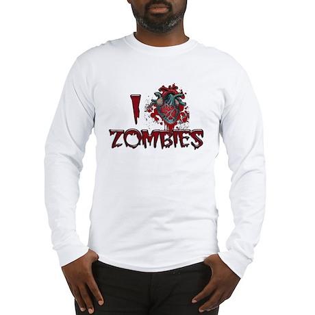 i (heart) ZOMBIES! Long Sleeve T-Shirt