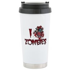 i (heart) ZOMBIES! Travel Mug
