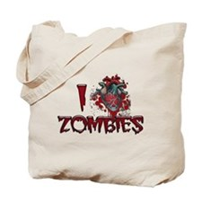 i (heart) ZOMBIES! Tote Bag