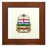 Alberta Shield Framed Tile