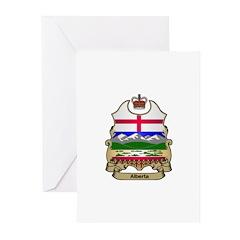 Alberta Shield Greeting Cards (Pk of 10)