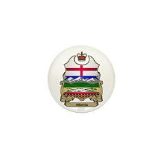 Alberta Shield Mini Button
